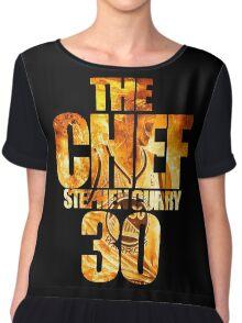 curry Chiffon Top