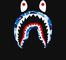 SHARK WITH BLUE CAMO Unisex T-Shirt