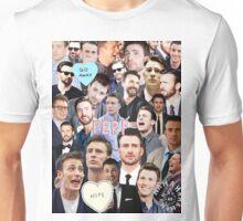 Chris Evans Collage Unisex T-Shirt