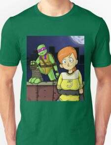Tmnt- April and Donnie Unisex T-Shirt