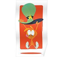 Wander Parachute Poster
