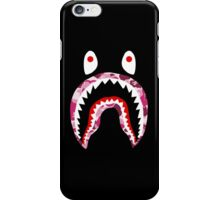 SHARK WITH PINK CAMO iPhone Case/Skin