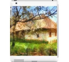old Ukrainian house iPad Case/Skin