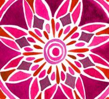 Red Mandala Sticker