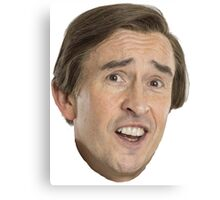 Alan Partridge - A-HA Canvas Print