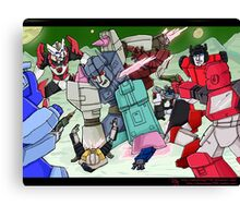 Transformers- Overlord Canvas Print