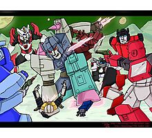 Transformers- Overlord Photographic Print