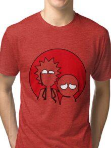 RickMorty Tri-blend T-Shirt