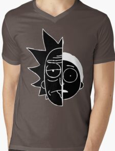 RickMorty Mens V-Neck T-Shirt