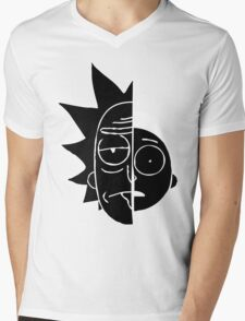 RickMorty Mens V-Neck T-Shirt