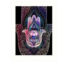Hamsa Color2 Art Print
