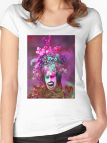 Vampire Plant Women's Fitted Scoop T-Shirt