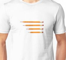 TOO COOL TO DO DRUGS PENCIL Unisex T-Shirt