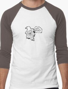 The Hobbit - Gandalf - Beard! Men's Baseball ¾ T-Shirt