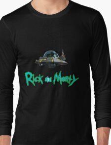 Space Ship Long Sleeve T-Shirt