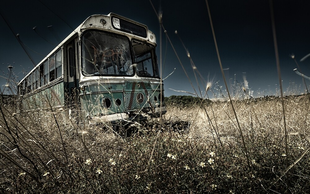 The Bus #0201 by Michiel de Lange