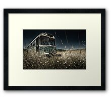 The Bus #0201 Framed Print
