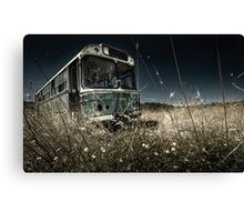 The Bus #0201 Canvas Print