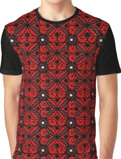 Red Gothic Graphic T-Shirt