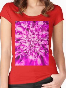 Abstract Flower 2 Women's Fitted Scoop T-Shirt