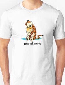 Calvin and Hobbes hug T-Shirt
