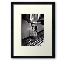 Film Days:  Coffee Shot Framed Print