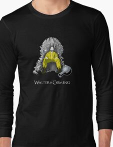 Breaking Bad - Walter is Coming Long Sleeve T-Shirt
