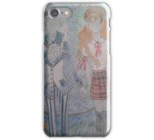 Fashion illustration iPhone Case/Skin