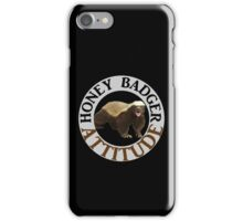 Honey Badger Attitude iPhone Case/Skin