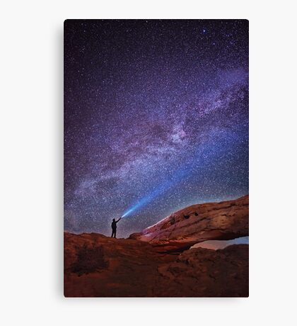 Starry Sky Canvas Print