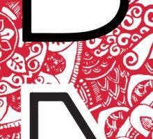 Rutgers Doodle Sticker