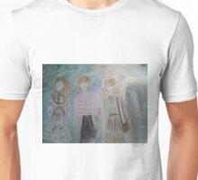 Tokyo fashion against Eden trees and golden sun Unisex T-Shirt