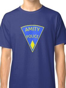 Jaws Amity Police patch Classic T-Shirt