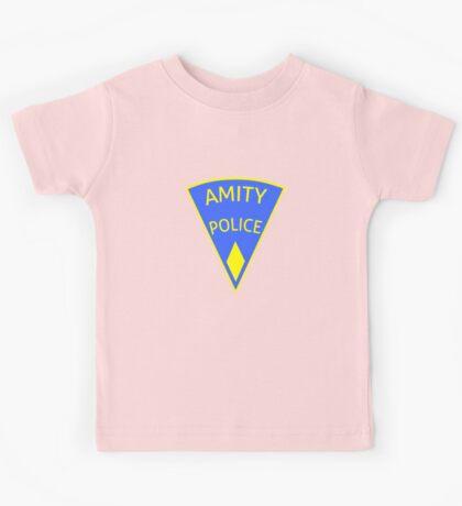 Jaws Amity Police patch Kids Tee