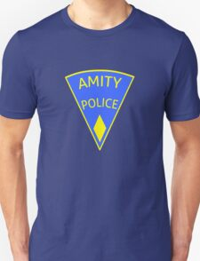 Jaws Amity Police patch Unisex T-Shirt