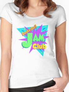 BballJamClub Women's Fitted Scoop T-Shirt