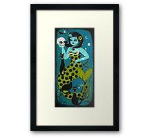 Mermaid Surprise Framed Print