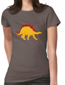 Dinosaur  Stegosaurus Womens Fitted T-Shirt