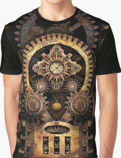 Infernal Steampunk Vintage Machine #2B Graphic T-Shirt