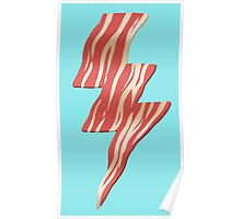 powered by bacon Poster