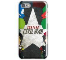 Turtles Civil War iPhone Case/Skin
