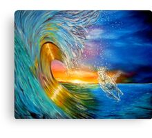 Freezing the Moment Canvas Print