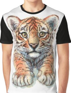Playful Tiger Cub 907 Graphic T-Shirt