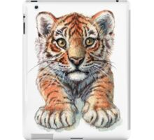 Playful Tiger Cub 907 iPad Case/Skin
