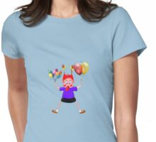 Watch Out I'm Coming Down! Womens Fitted T-Shirt