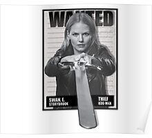 Wanted Emma Swan Poster