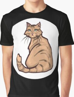 Orange Tabby Graphic T-Shirt