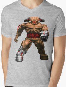 Doom Cyberdemon Mens V-Neck T-Shirt