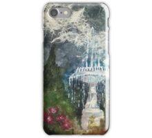 Plaza Park Fountain - Orange, CA iPhone Case/Skin