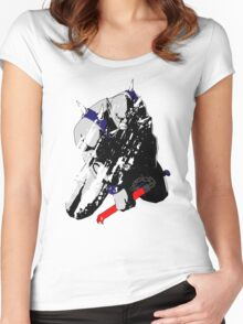 Panthro - distressed Women's Fitted Scoop T-Shirt